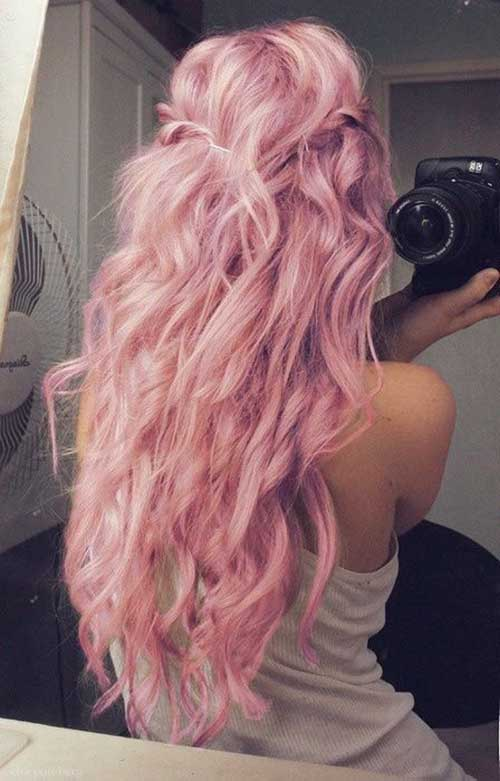 Cotton Candy Couleurs de Cheveux-13