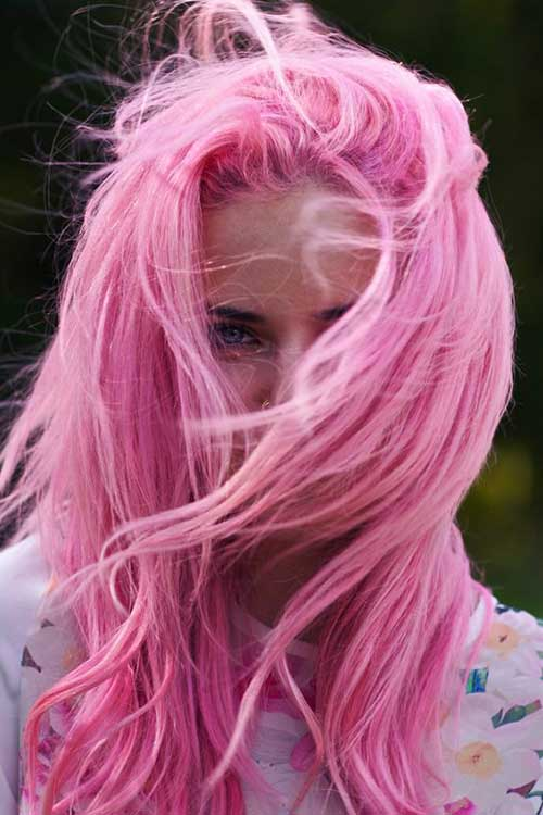 Cotton Candy Couleurs de Cheveux-6