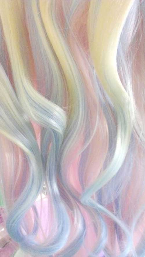 Cotton Candy Couleurs de Cheveux-7