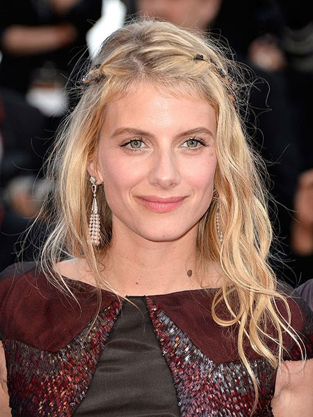 Melanie-Laurent-Braided-Hair