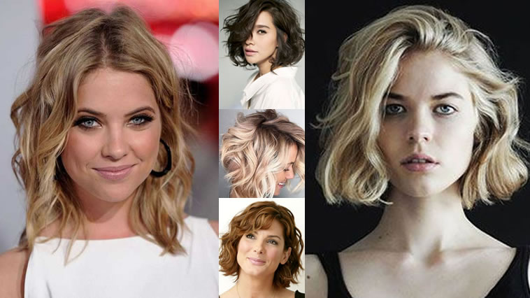 Wavy-Short-Hairstyles-and-Haircuts-for-2018-2019