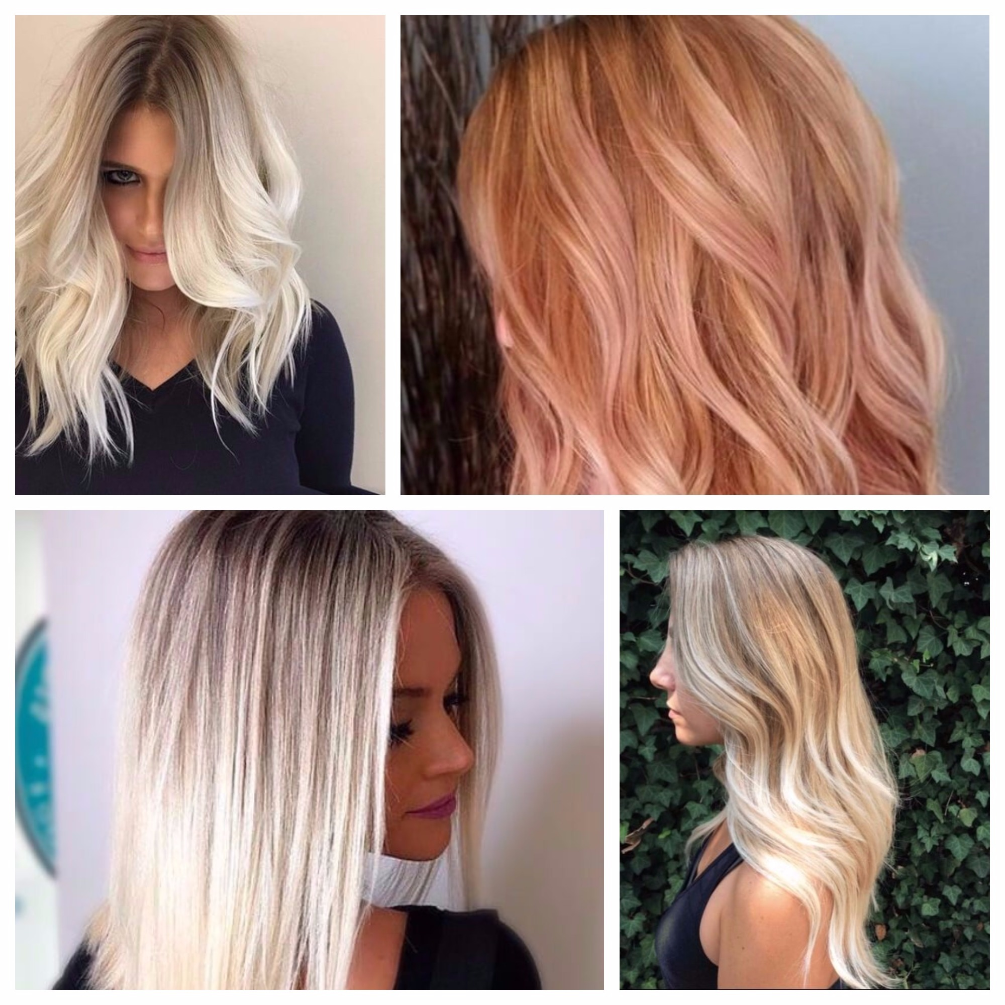 bombe blonde balayage de couleurs de cheveux pour 2018 coupe de cheveux. Black Bedroom Furniture Sets. Home Design Ideas