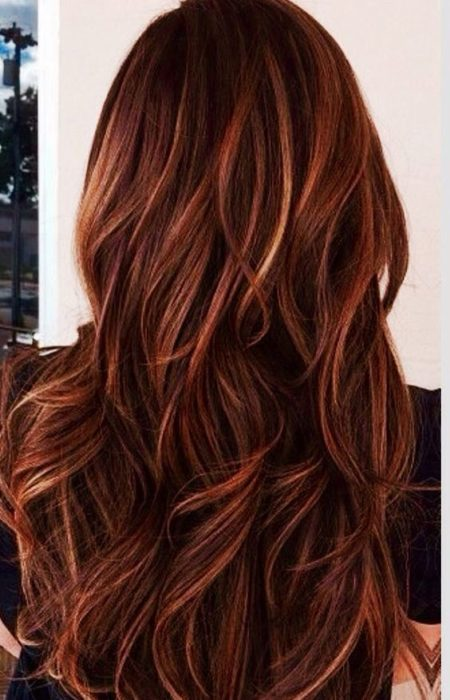 red-hair-color-with-caramel-highlights-450x700