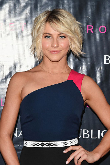 Julianne Hough Bob Petite Messy Lawrence Jennifer