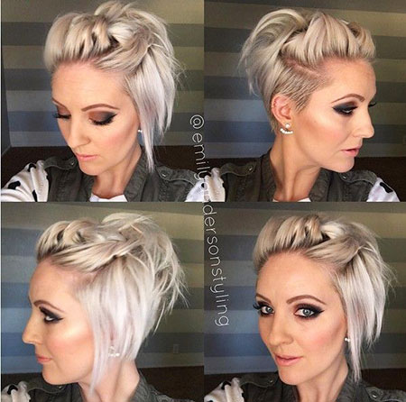 Short Pixie Girls Updos Quick Fun Frisyrer