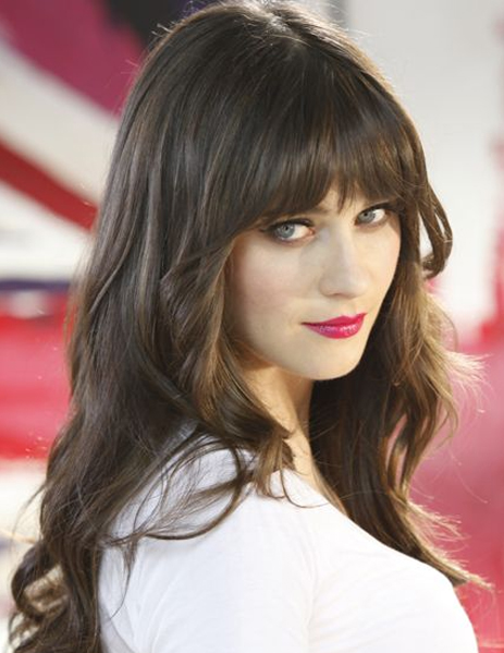 Absolutely Nice Full Fringe Coiffures 2018 pour les cheveux longs
