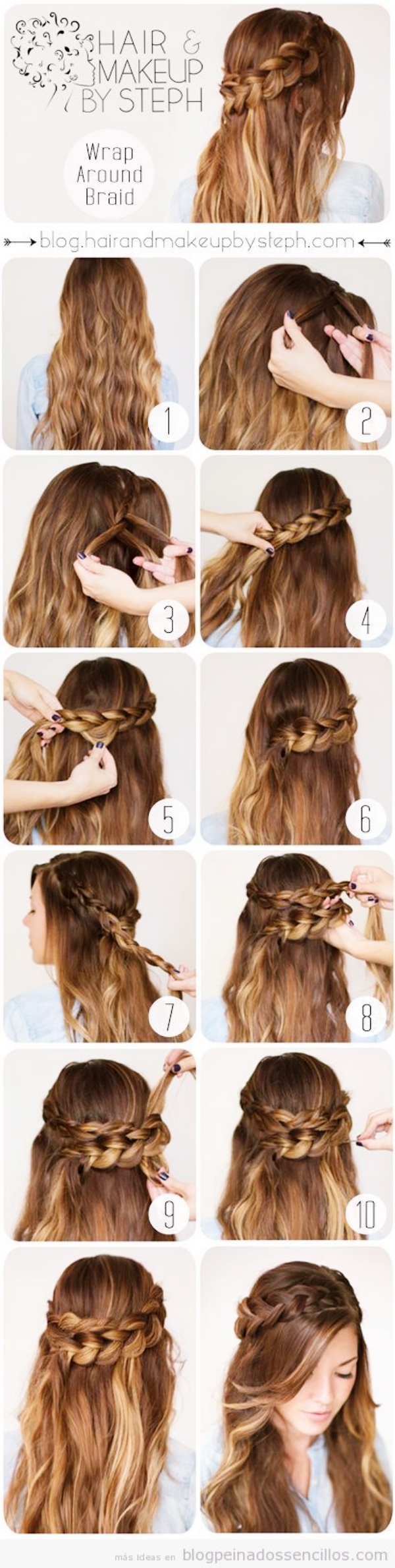 grec-déesse-demi-up-half-down -Hairstyles