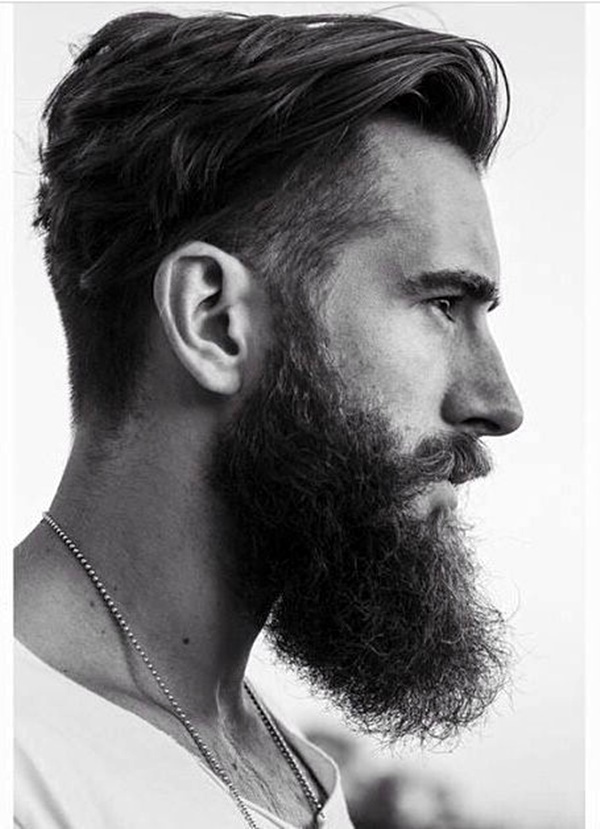 barbe styles pour hommes