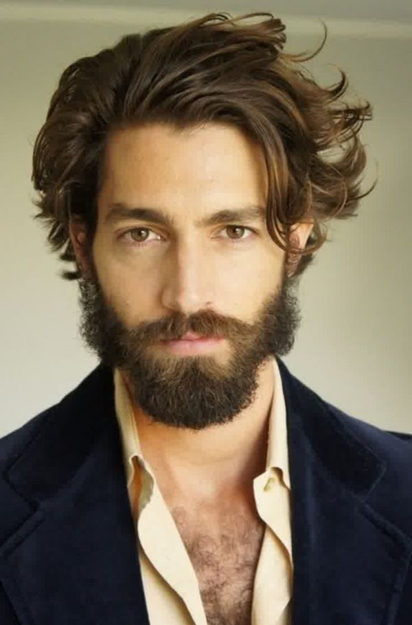 Hommes Barbe style 12