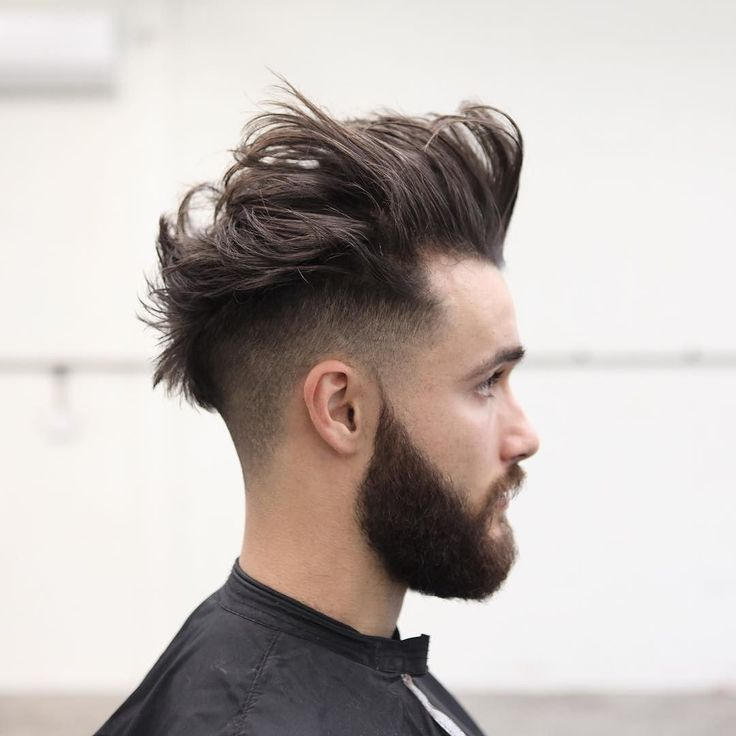 Hommes Barbe style 21