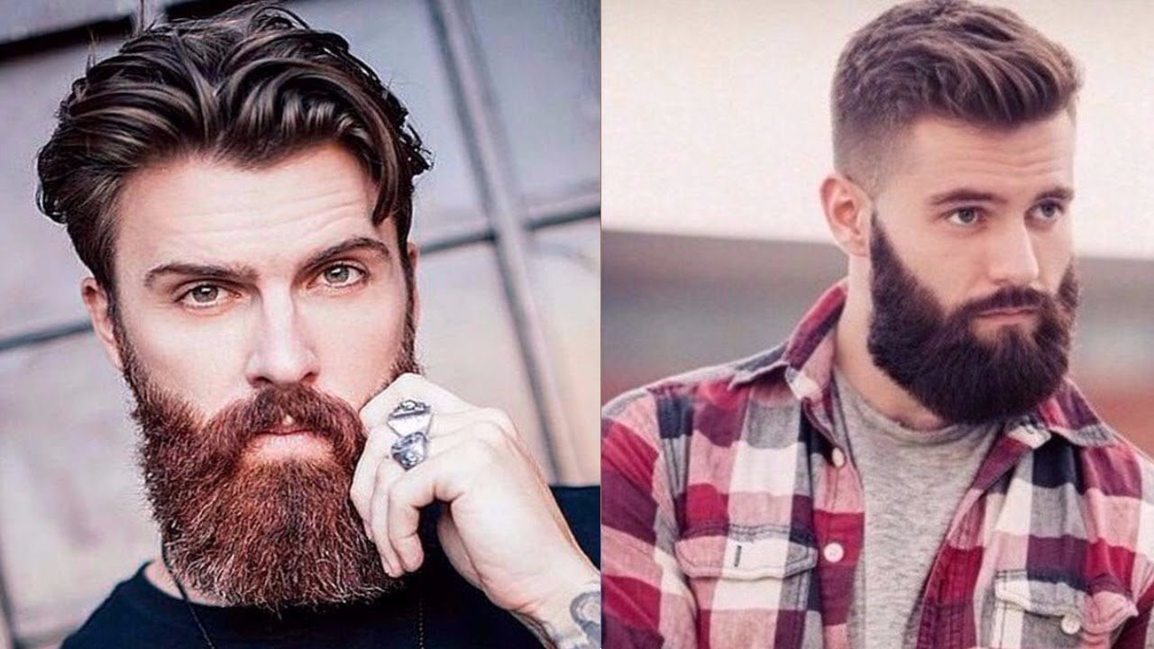 Hommes Barbe style 18