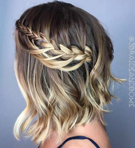 Braid Couronne Braided Bob