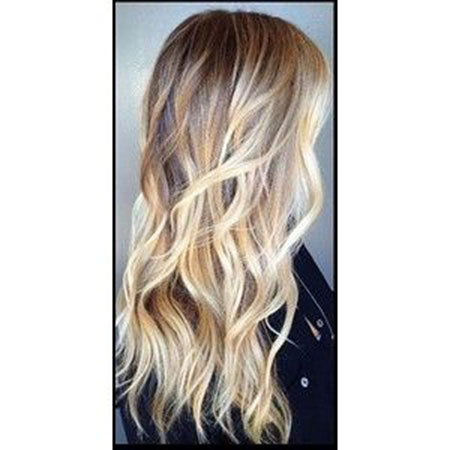 Balayage Cheveux Blonde Ombre