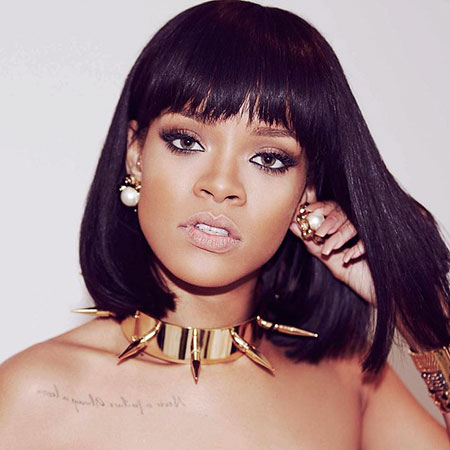 Bob Hairtyle, Rihanna Perruque Femmes Washington