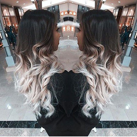 Ombre Blonde Cheveux Frêne