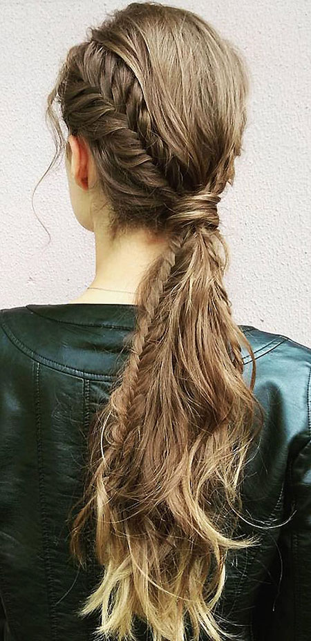 Tresse Hairtyles French Fishtail