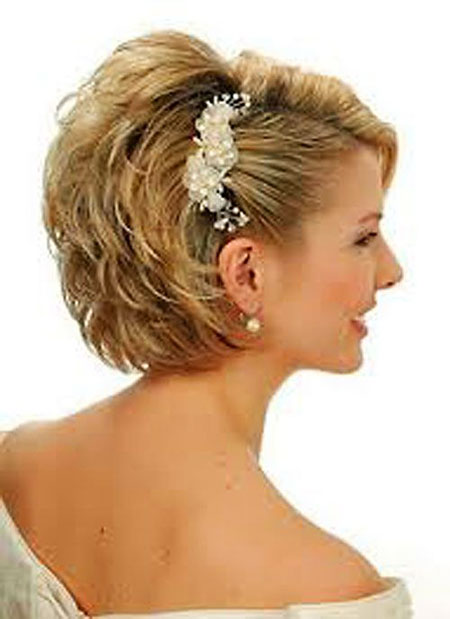 Mariage, Coiffures courtes, Coiffures blondes, Mariages
