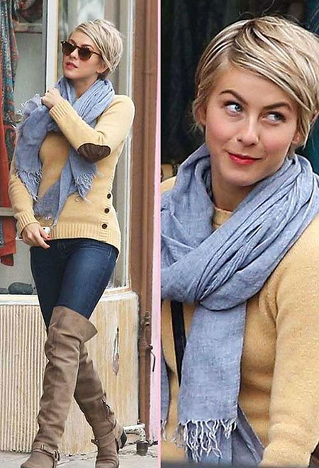 Coiffures Courtes, Julianne Hough, Mode