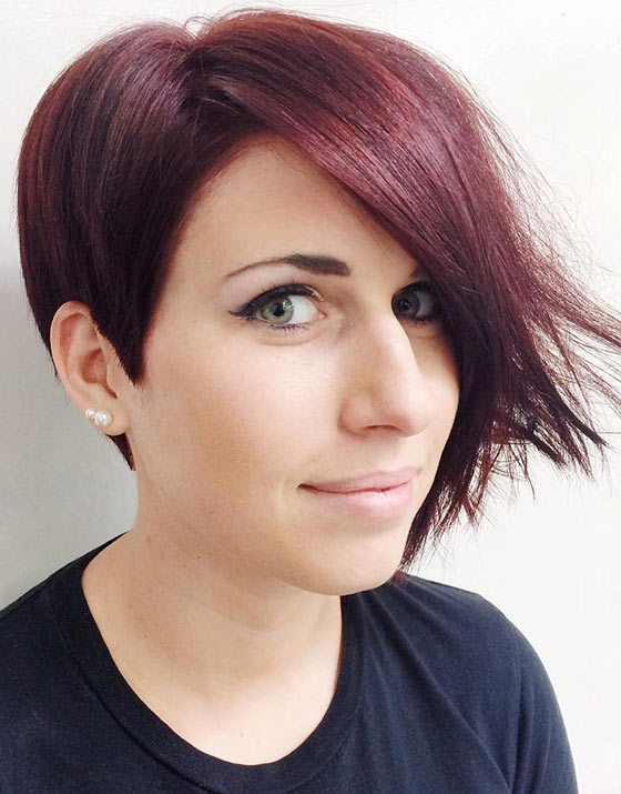 Half Cut Demi Bob Haircut