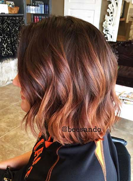 Balayage, Highlights, Perruque, Ombre, Rouge