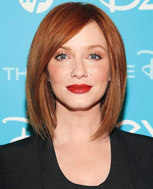 Bob Bob Straight Bob Christina Hendricks