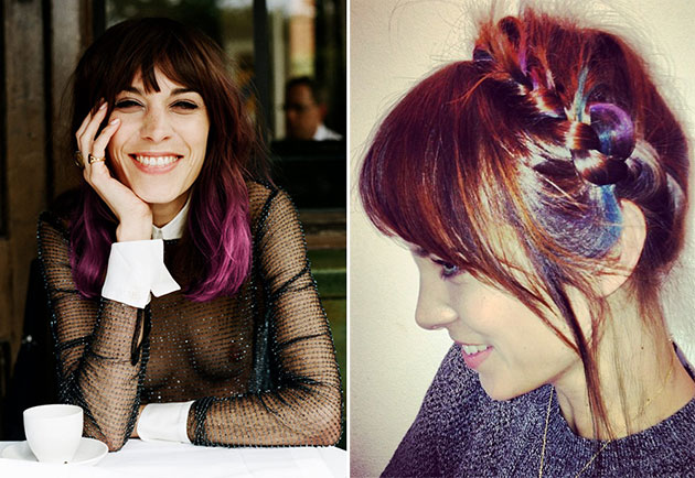Alexa_Chung_pastel_rainbow_hair_color
