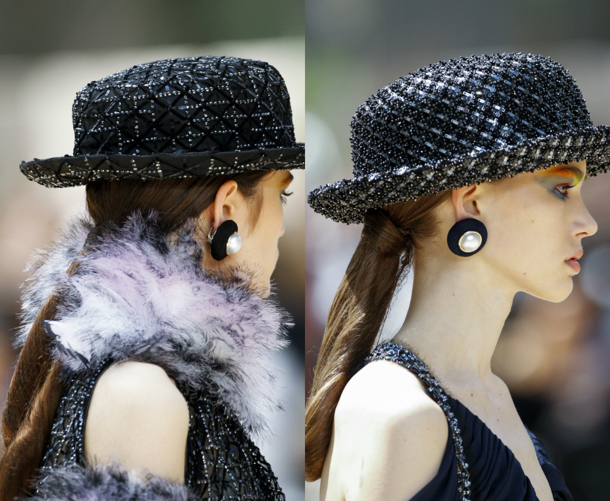 Chanel-ponytail-hairstyles-2017-Fall-Winter-2018-Couture-Week
