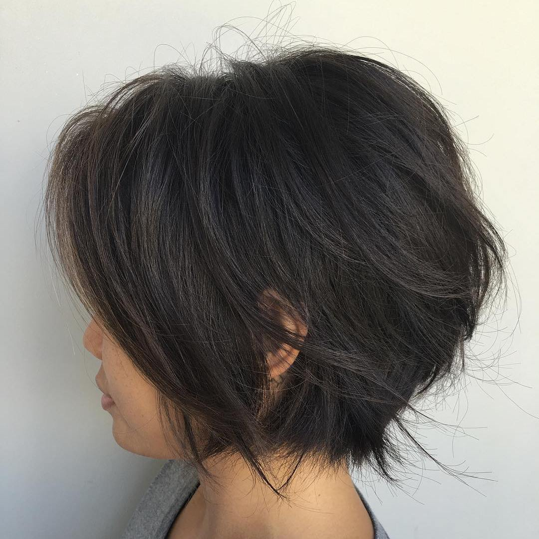 short-layered-bob-haircuts-2018