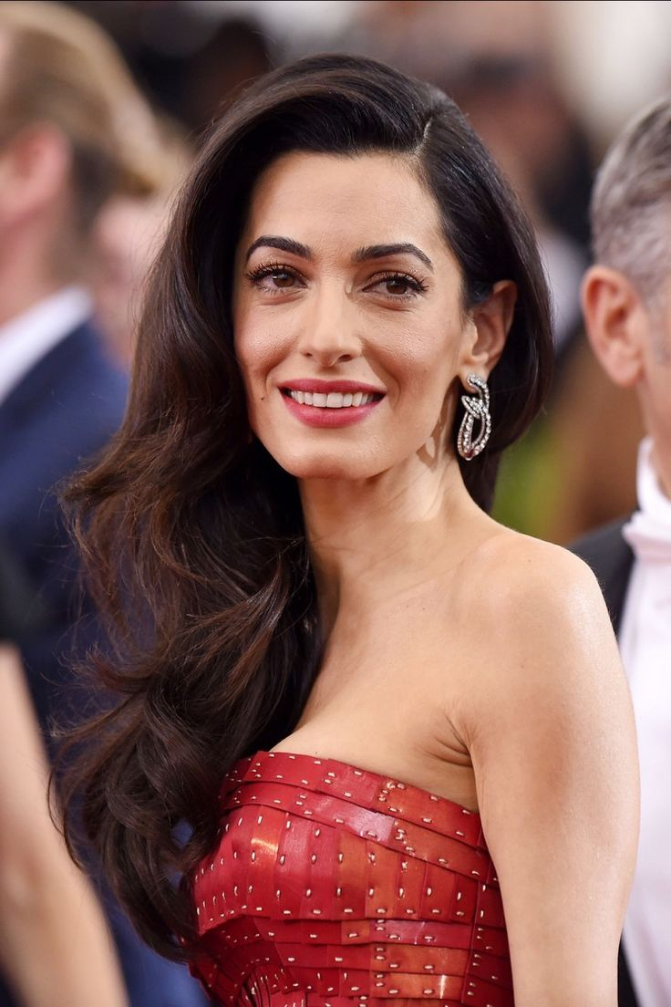 Amal-Clooney-brunette-hair-color