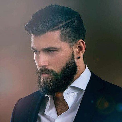 Mens-Hairstyles-with-Beards