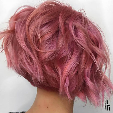 Cheveux Gold Short Rose