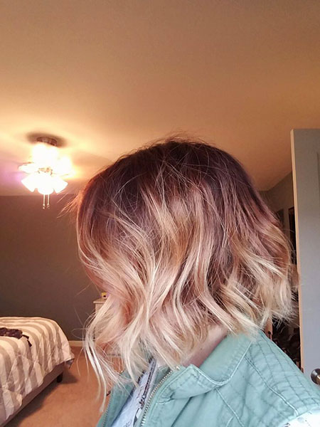 Ombre Blond Or Rose, Cheveux Ombre Blond Rose