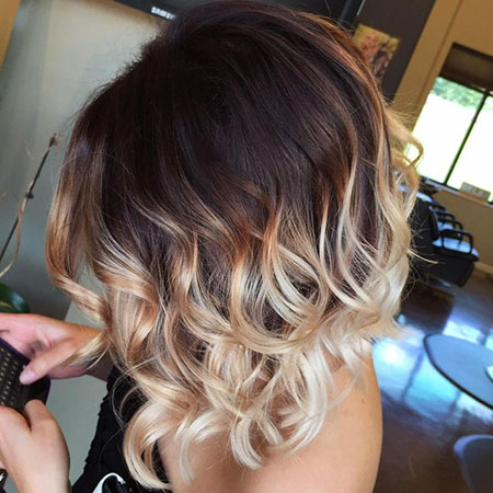 Cheveux Ombre Color Short