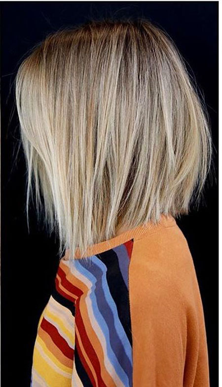 Cheveux blonds Bobs Straight