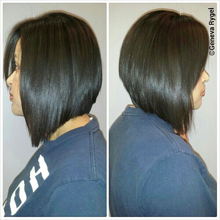 Bob Hair Long Sleek