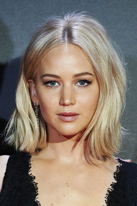 Jennifer Lawrence, cheveux blond Lawrence Light