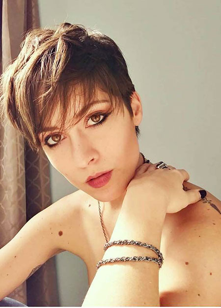 Cute Pixie Cut, styles de cheveux courts Pixie