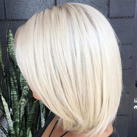 Blonde Platinum Long White