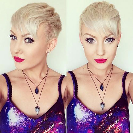Platinum Hair Pixie