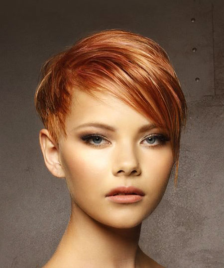 Cheveux courts Pixie Straight