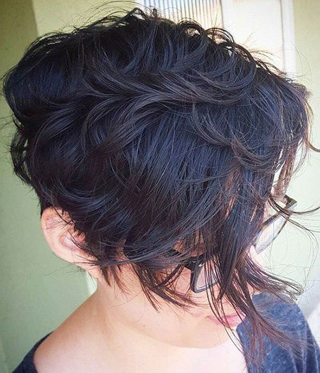 Bob cheveux Wavy Choppy