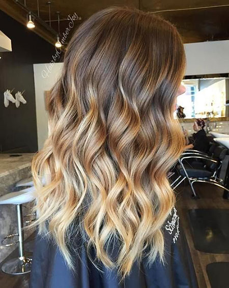 Brown to Blonde, Balayage Cheveux Ombre Blonde