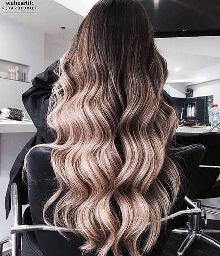 Cheveux Ombre Balayage Blonde