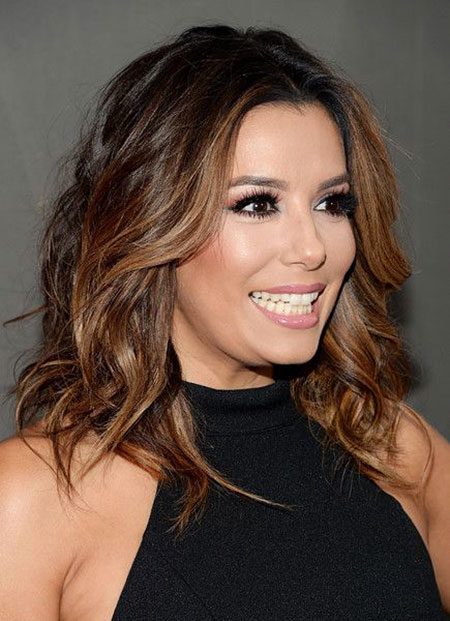 Cheveux Eva Longoria Medium