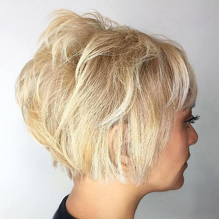 Blonde Bob Layered Balayage