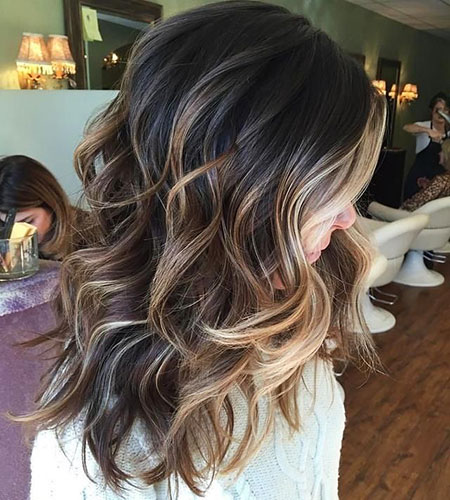 Balayage Hair Dark Dark